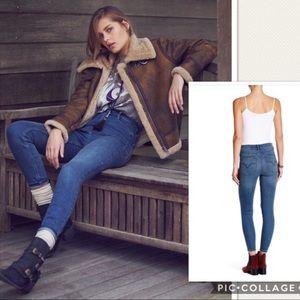 Free People Cyndi High Rise Skinny Jeans Size 27